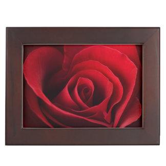 Rose rouge de Valentine Boîtes À Souvenirs
