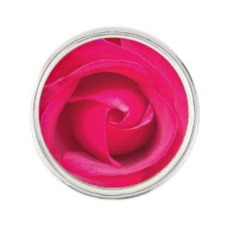 Rose rouge romantique de rose épinglette