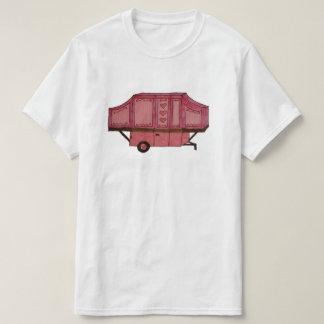 rose sautez la conception de campeur t-shirt