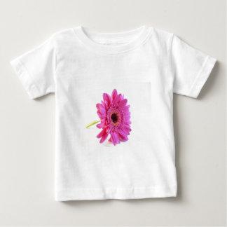rose sur le blanc t-shirts