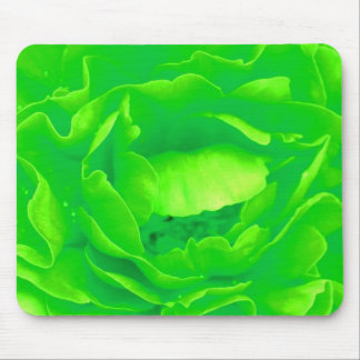 Rose vert Mousepad - personnalisable Tapis De Souris