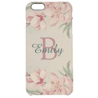 Rose vintage d'aquarelle floral coque iPhone 6 plus