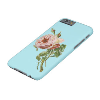 Rose vintage de rose coque barely there iPhone 6