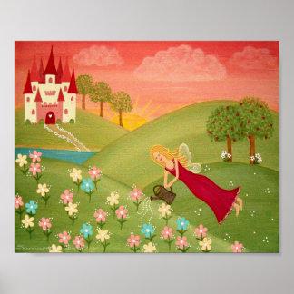 Rosée de matin - les filles féeriques du jardin posters