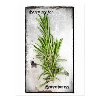 Rosemary Carte Postale
