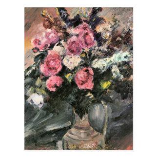 Roses 1 par Lovis Corinthe Carte Postale