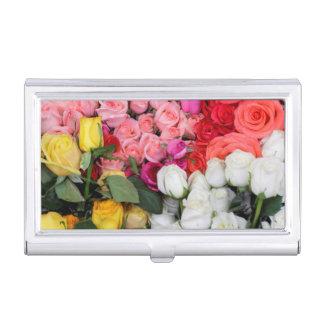 Roses à vendre, San Miguel de Allende, Mexique Boîtier Pour Cartes De Visite
