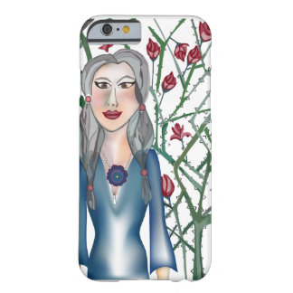 Roses avec épine coque iPhone 6 barely there