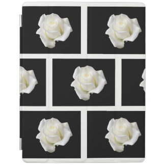 roses blancs protection iPad