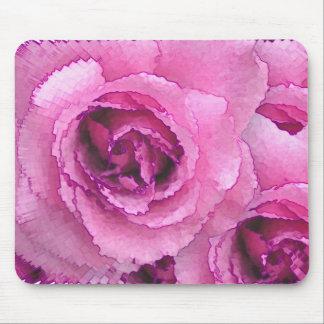 Roses de papier tapis de souris