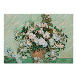 Roses de Vincent van Gogh |, 1890 Posters