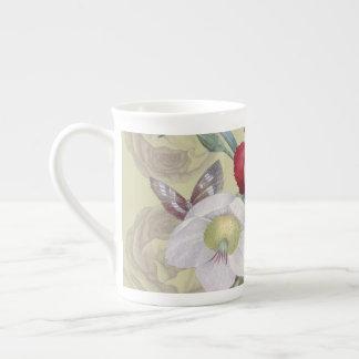 Roses d'oeillet d'anémone mug