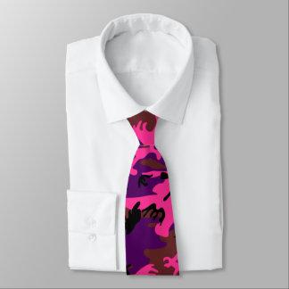 Roses indien Camo Cravates