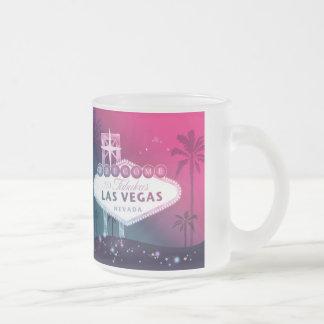 Roses indien Las Vegas épousant le souvenir Tasse Givré