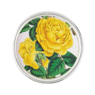roses jaunes pin's
