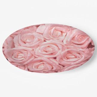 roses magnifiques G Assiettes En Papier