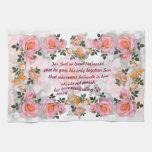 Roses pour ma serviette de cuisine de ~ d'amour #  linges de cuisine