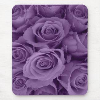 roses pourpres tapis de souris