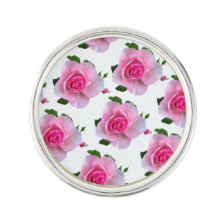 Roses roses blancs pin's