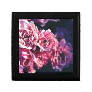 Roses roses boîte à souvenirs