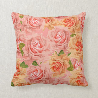Roses roses coussin