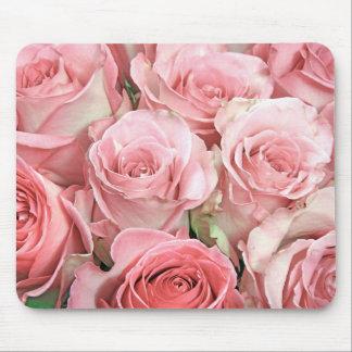 Roses roses tapis de souris