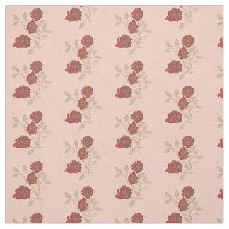 Tissu rose rouge personnalisable pour loisirs cr atifs - Tache d encre sur tissu ...