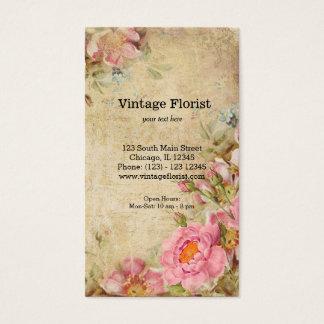 Roses vintages cartes de visite