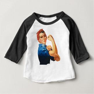 Rosie classique fait sur commande le rivoir t-shirt pour bébé