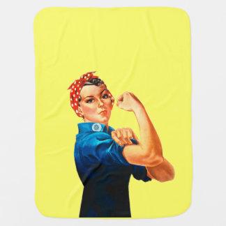 Rosie l'affiche de 2ÈME GUERRE MONDIALE de rivoir Couvertures De Bébé