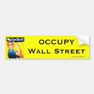Rosie le bumpersticker du rivoir OWS Autocollant De Voiture