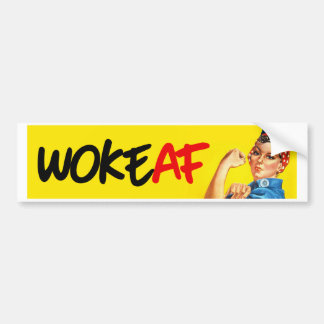 Rosie le rivoir - a réveillé l'AF - Stic de butoir Autocollant De Voiture