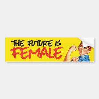 Rosie le rivoir - l'avenir est femelle - Feminis Autocollant De Voiture