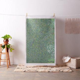 Rosiers de Gustav Klimt sous les arbres GalleryHD Tissu