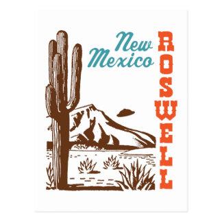 Roswell Nouveau Mexique Carte Postale