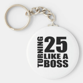 Rotation de 25 comme des conceptions d'un porte-clé rond