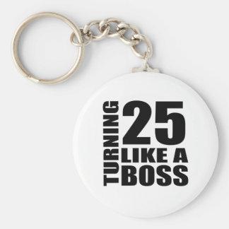 Rotation de 25 comme des conceptions d'un porte-clés