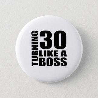 Rotation de 30 comme des conceptions d'un badges