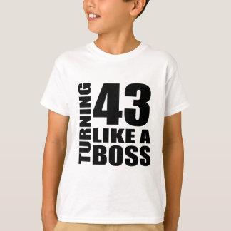 Rotation de 43 comme des conceptions d'un t-shirt