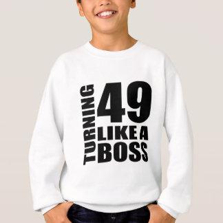 Rotation de 49 comme des conceptions d'un sweatshirt