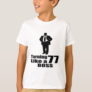 Rotation de 77 comme un patron t-shirt