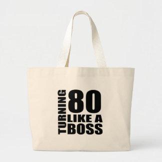 Rotation de 80 comme des conceptions d'un grand tote bag