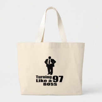 Rotation de 97 comme un patron grand tote bag