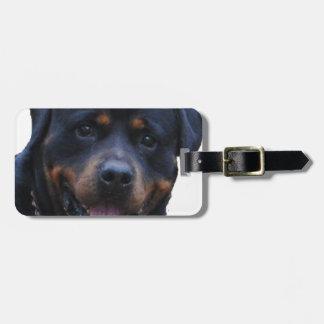 Rottweiler de Rath Étiquette Pour Bagages