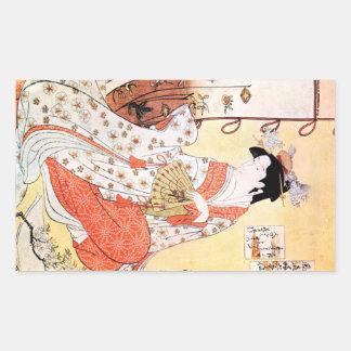 Roucoulement classique japonais oriental frais d'a adhésifs