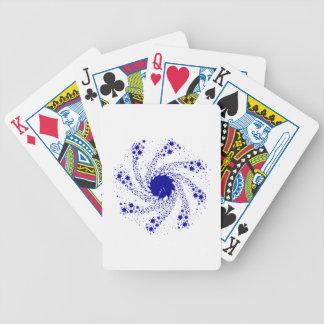 Roue bleue de Pin Jeux De Cartes