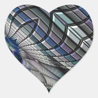 Roue d'acier sticker cœur