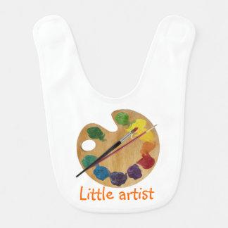 Roue de couleur colorée d'arc-en-ciel de palette bavoir pour bébé