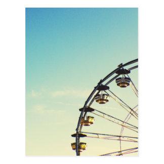 Roue de Ferris Carte Postale