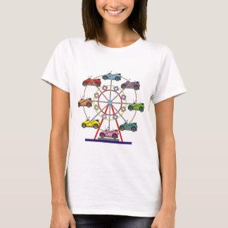Roue de Ferris de voiture d'Eco T-shirt